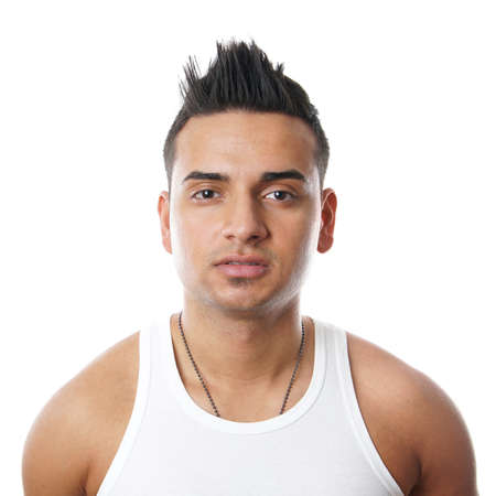 young turkish man Stock Photo