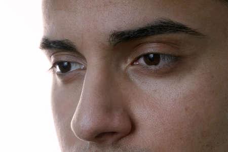closeup of male face photo
