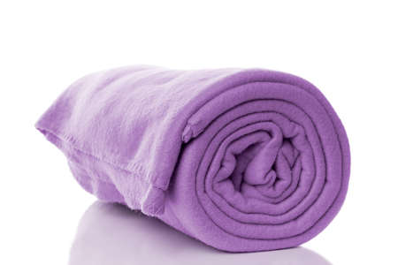 fleece: purple fleece blanket