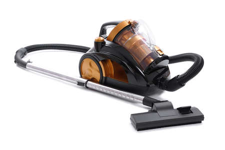 vacuum cleaner: bagless cyclone vacuum cleaner Stock Photo