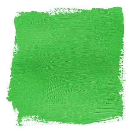 peinture acrylique fond vert