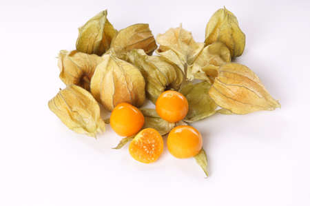 cape gooseberry: physalis also called cape gooseberry or ground cherry