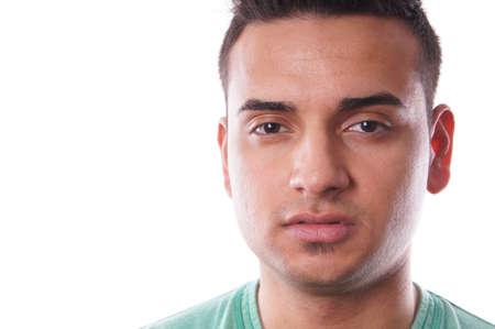 turkish man: close-up portrait of a young turkish man