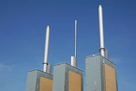 combined heat and power CHP station Kraftwerk Linden Limmer in Hannover, Germany