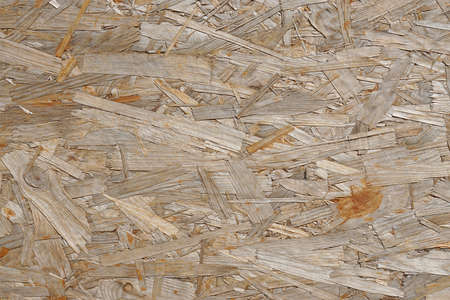oriented: OSB oriented strand board is an engineered wood particle board or chipboard