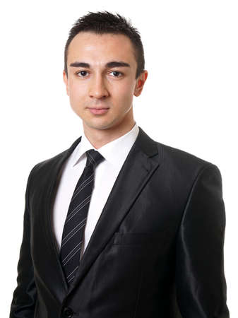 young executive: young executive business man wearing suit and tie Stock Photo