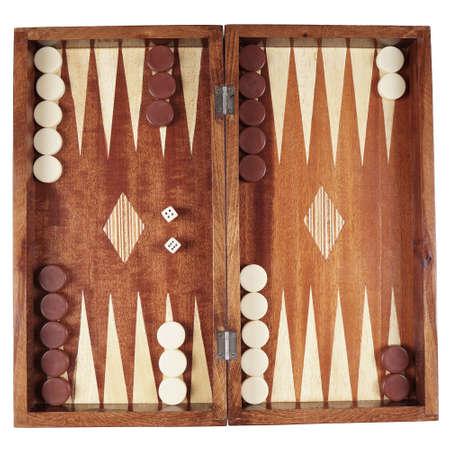 backgammon wooden tavli board game from greece