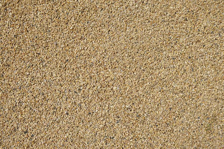 granular: fine or granular gravel background texture Stock Photo