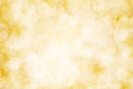 abstract yellow bokeh blur background Imagens