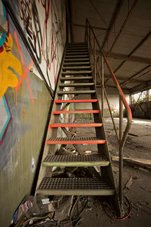 industrie: industrie stairs with graffiti