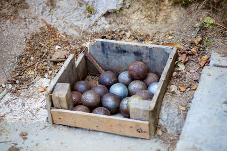 passion play: Iron boules balls