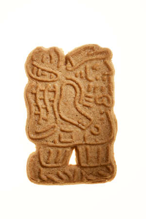 almond biscuit: A speechless Old Santa