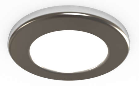 Ceiling light,  3d illustration, isolated on white Stock Illustration - 8000535