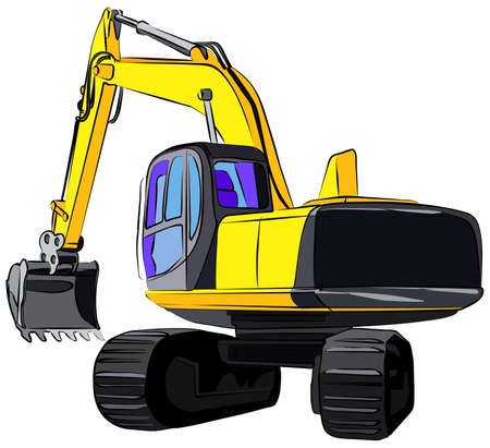 407 Caterpillar Truck Stock Vector Illustration And Royalty Free ...