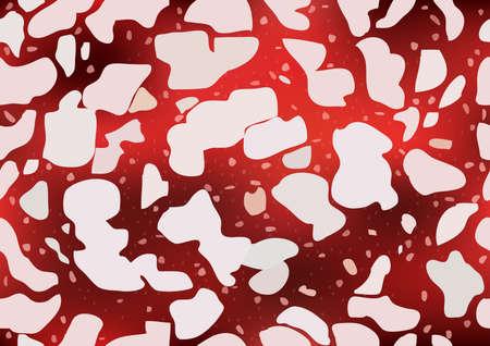 salami: Salami pattern, texture. Vector illustration