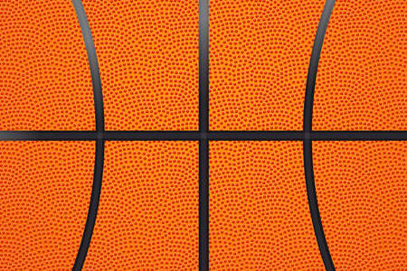 Basketball ball leather background