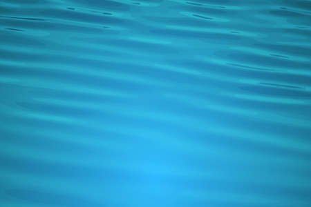 Water surface with waves. Color vector illustration