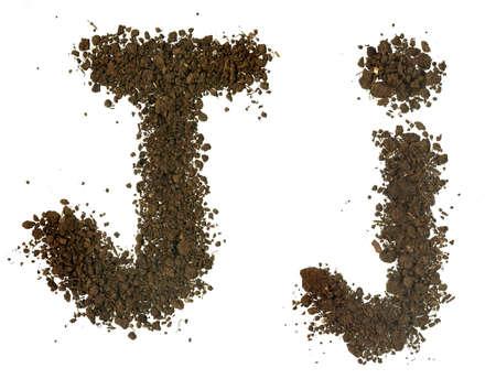 j: Soil Alphabet  Letters j