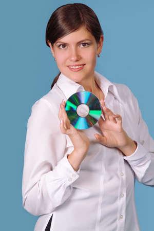 device disc: Disk presentation Stock Photo