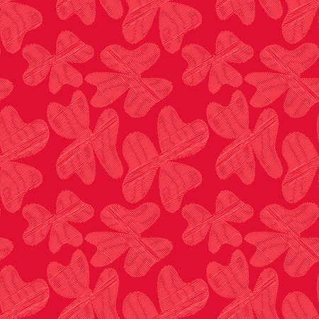 The fliwers is shaded with a single line. Vector seamless background. and drawn illustration.