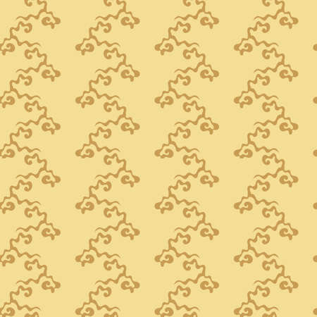 Japanese national flower pattern. Hand drawn Seamless background for fabric and other surfaces.