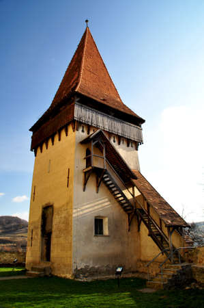 biertan: The fortified church from Biertan, Transylvania, heritage monuments from Romania Stock Photo