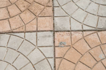 concrete block pavement photo