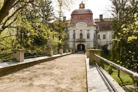 built: Medieval castle in Romania, Gornesti, built by Joseph Teleki Editorial