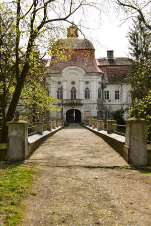 Medieval castle in Romania, Gornesti, built by Joseph Teleki Editorial