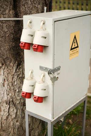 control box: Outdoor electric control box, distribution box