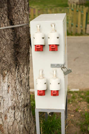 distribution box: Outdoor electric control box, distribution box