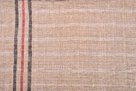 tejido de lana: Mano teje la tela de lana, fondo Foto de archivo
