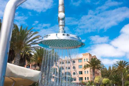 SPAIN, CANARY ISLANDS, FUERTEVENTURA - JUNE 15, 2016: R2 Rio Calma Hotel & Spa & Conference