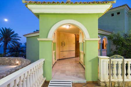 SPAIN, CANARY ISLANDS, FUERTEVENTURA - JUNE 19, 2016: R2 Rio Calma Hotel & Spa & Conference Editorial