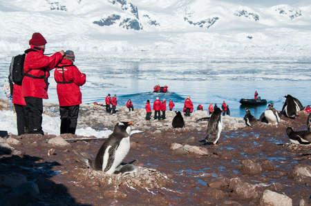 polar station: Red jacket expedition exploring Antarctica