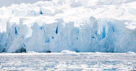 Crystal glacier in the  Antarctic waters Фото со стока