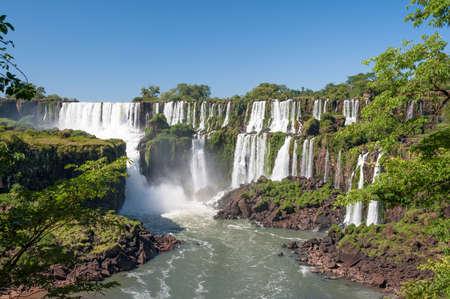 Awesome Iguazu waterfall in Angentina Stock Photo - 15911502