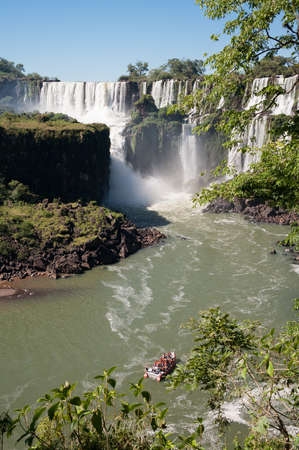 Beautiful Iguazu waterfall in Angentina photo