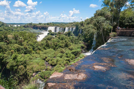 Iguazu falls, View from Argentinian side photo