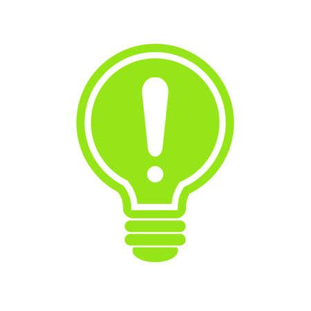 전구 광선 손질 아이콘 벡터, 흰색 배경에 고립. 아이디어와 에너지 사인, 솔루션, 사고 개념. 조명 전기 램프입니다. 전기. 트렌디 한 그래픽 디자인을 일러스트