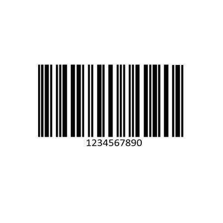 Barcode product distribution icon. Vector illustration. Business concept barcode pictogram. Eps 10 Vectores