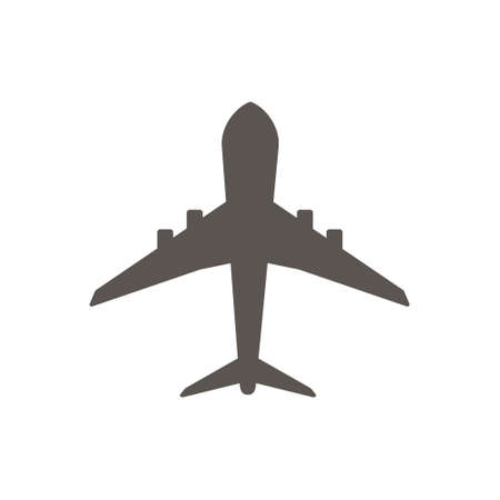 Plane icon vector. Plane. Fighter icon