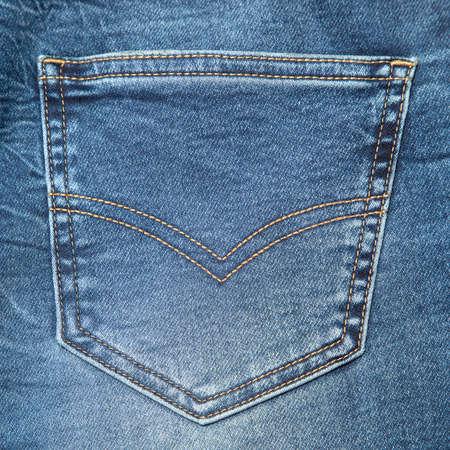 Blue Jeans Pocket or Denim Pocket Background. Dark Blue Jeans Pocket or Denim Pocket Background for Apparel Design.