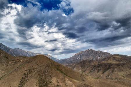 kyrgyzstan: montañas de Kirguistán