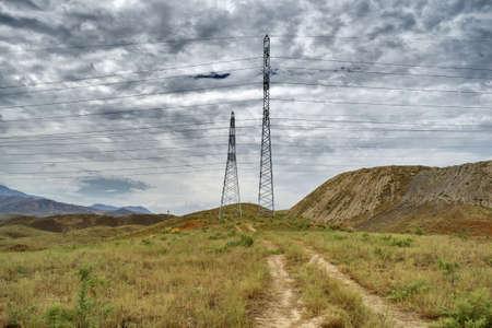 kyrgyzstan: mountains of Kyrgyzstan Stock Photo