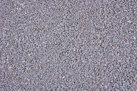 Crushed gravel as background or texture