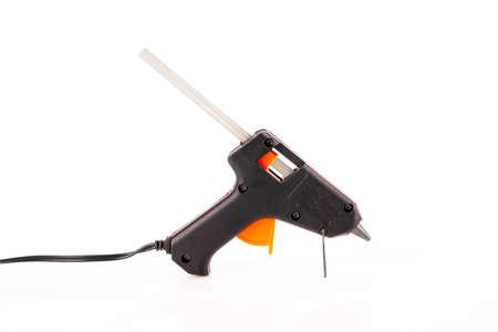 Glue gun isolated on white Standard-Bild