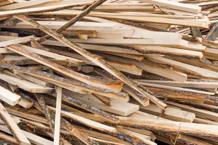 Background of firewood logs in a heap