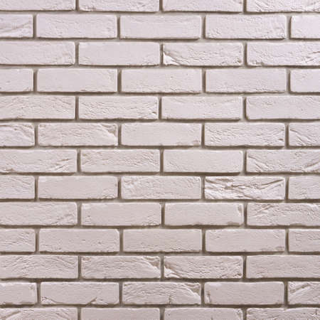 White brick seamless repeating wallpaper background pattern Zdjęcie Seryjne