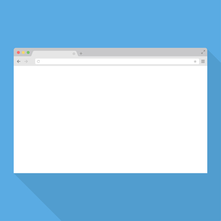 Browser window. Browser vector illustration. Browser in flat style. Web browser concept. Internet browser image. Browser mockup. Browser screen design.
